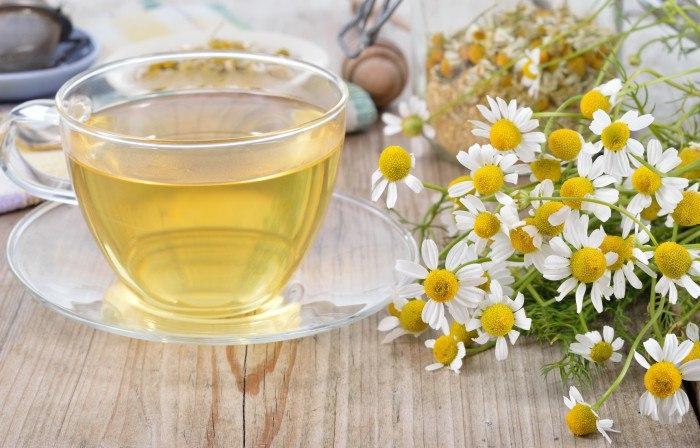 Ромашковый успокаивающий чай