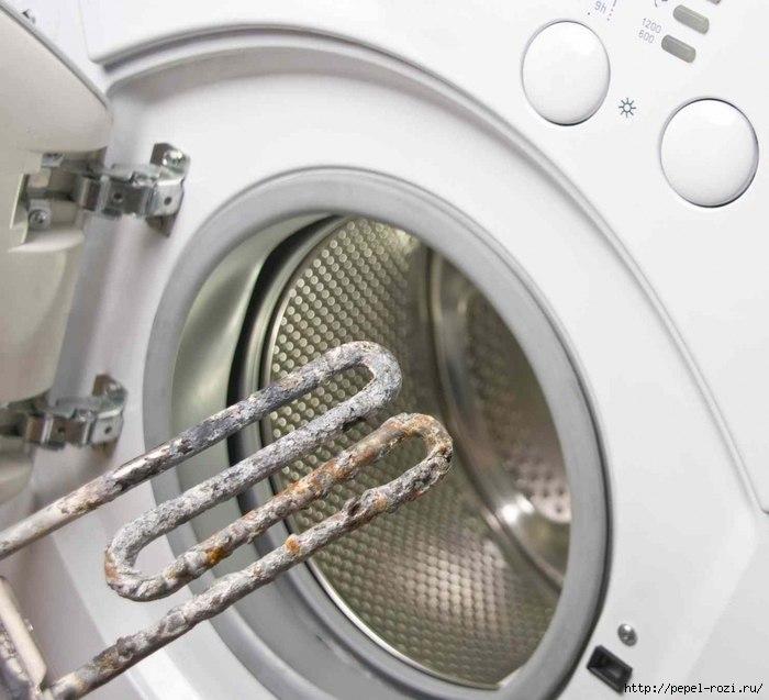 почистить стиральную машину