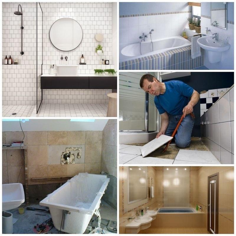 ошибки при ремонте ванной