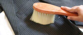 почистить пиджак в домашних условиях