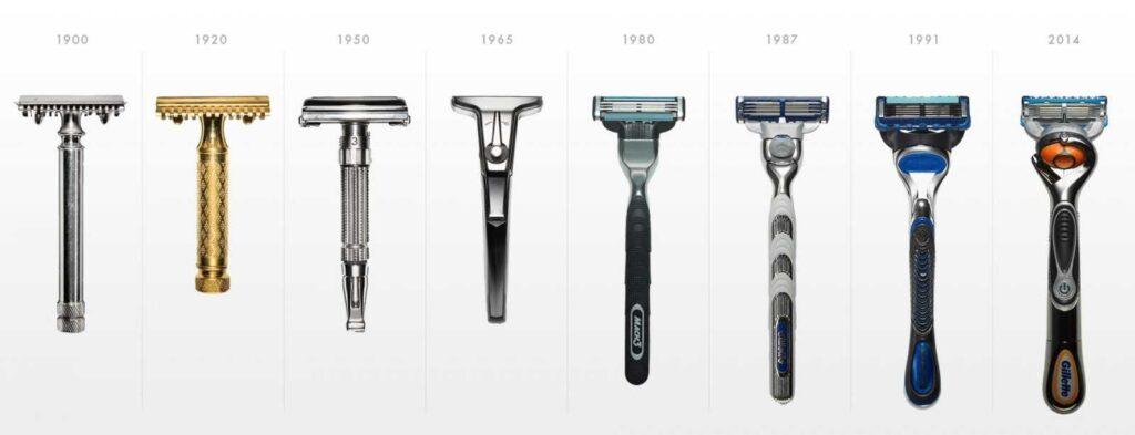 бритвы 20го века
