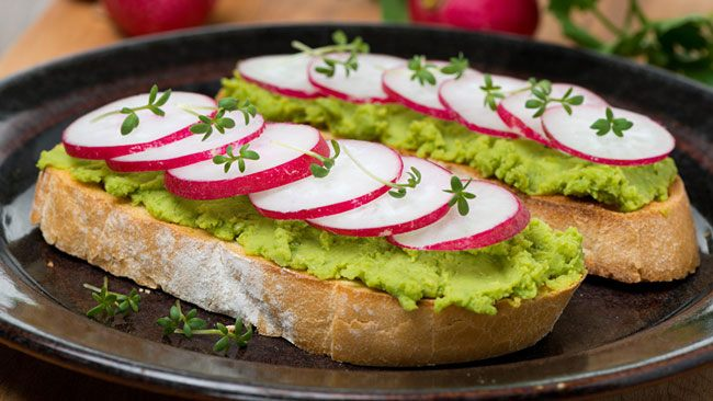 Бутерброды на Новый год 2020