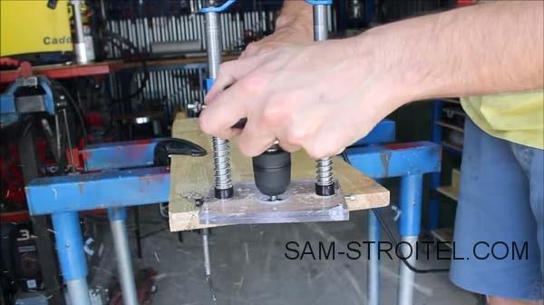 Фрезер из болгарки сделанный своими руками: фото и описание изготовления