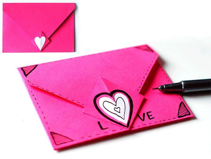 как сделать открытку письмо своими руками благородный опал