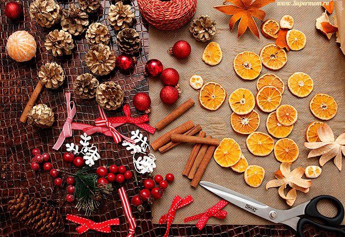 Как украсить дом на Новый год своими рукаим, идеи с фото