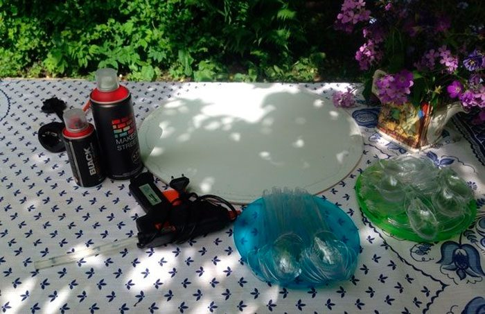 Красивые поделки из пластиковых ложек своими руками, идеи