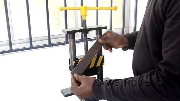 Листогибочный станок своими руками (38 фото и описание изготовления)