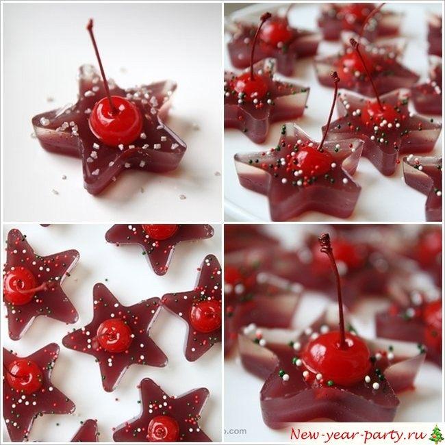 Новогоднее желе и желейные конфетки, фото-рецепты