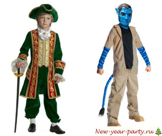 Новогодние костюмы для мальчиков, фото 2020 года
