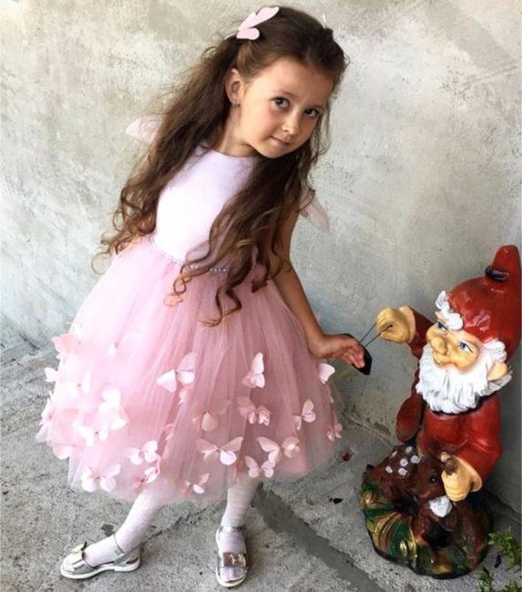 Новогодние платья для девочек, 50 ярких фото 2020 года!