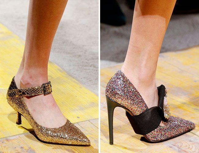 Новогодние туфли 2020 - 40 фото самых красивых моделей!