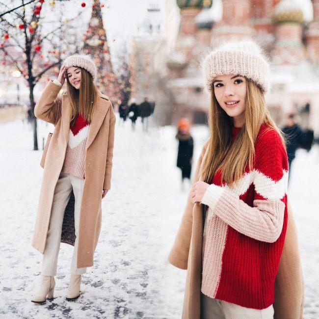 Новый год на улице! 20 стильных образов, чтобы не мерзнуть!