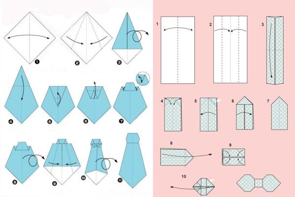 как сделать открытку рубашку с галстуком своими руками поэтапно модифицированный свет