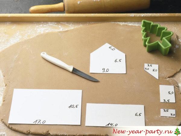Пряничный домик - пошаговый рецепт с фото, мастер-класс