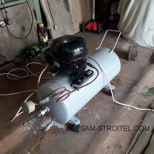 Самодельный компрессор для покрасочных работ: фото и описание самоделки