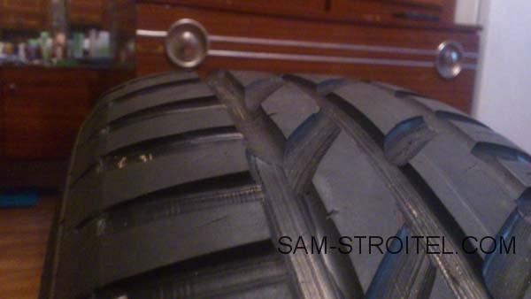 Самодельный регрувер для нарезки протектора на старых шинах
