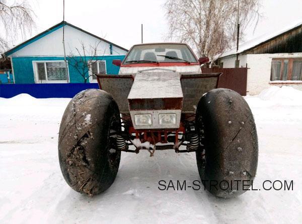 Самодельный вездеход из ВАЗ-21099