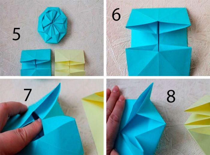 Шары кусудама из бумаги для начинающих, пошаговые схемы