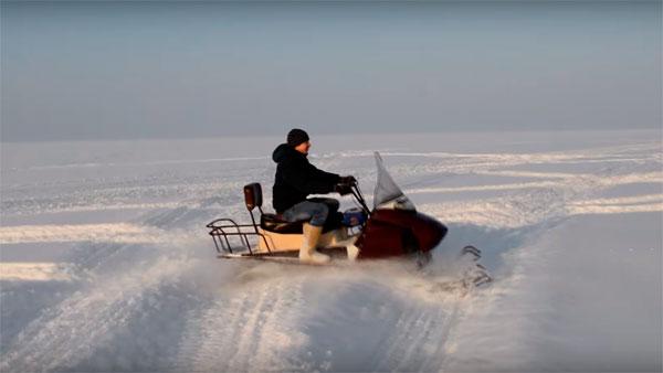 Снегоход своими руками: фото пошагового изготовления самоделки