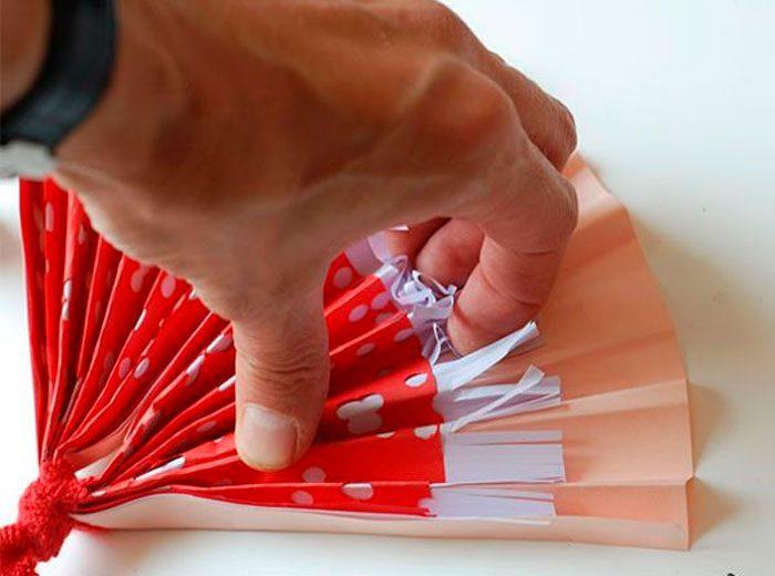Веер из бумаги своими руками, 5 мастер-классов