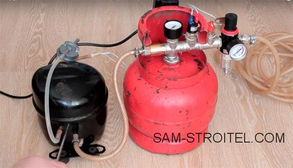 Воздушный компрессор своими руками: подробная инструкция по изготовлению