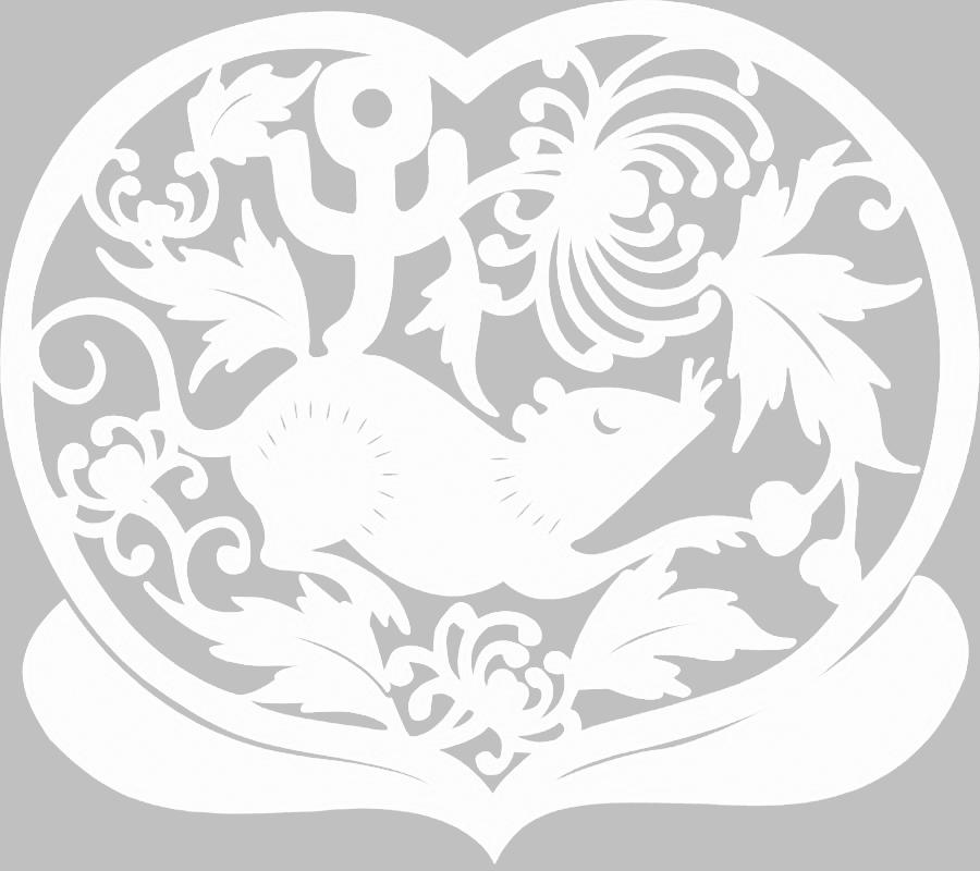 Вытынанки на Новый год 2020 Крыса, шаблоны и трафареты для вырезания из бумаги