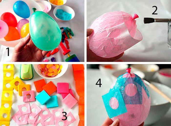 Яйцо в технике папье-маше своими руками, 3 мастер-класса