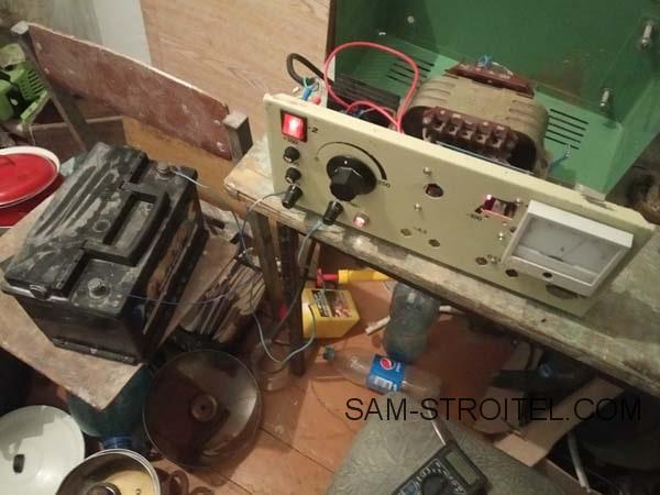 Зарядное устройство для автомобильного аккумулятора своими руками: схема, фото и описание