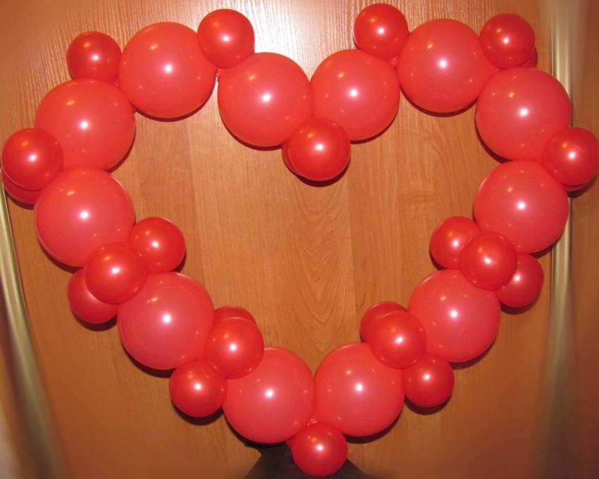 показывает сердце из шаров своими руками в картинках рабочем кабинете можно