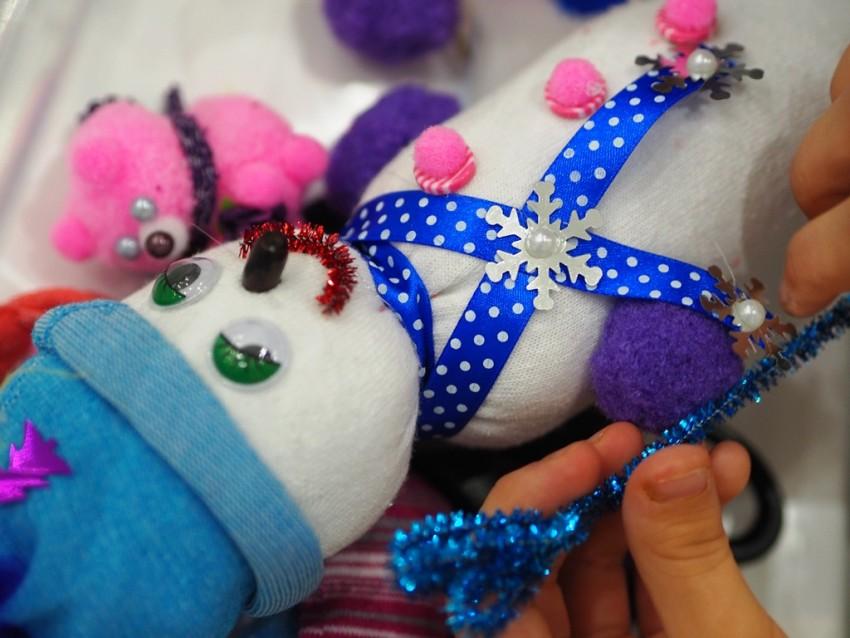 Поделки из носков - подборка лучших идей создания стильных игрушек и украшений