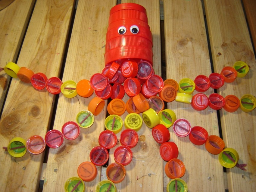 Поделки из пластиковых бутылок - 105 фото вариантов использования ненужных бутылок