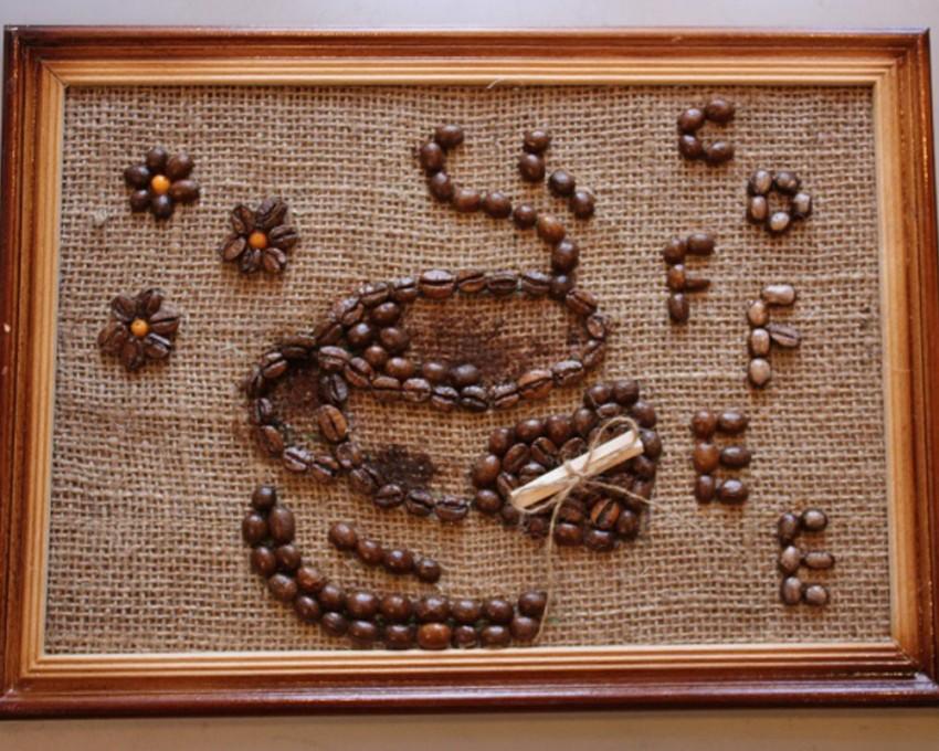 Поделки из зерна - картины и панно из природных материалов (115 фото и видео)