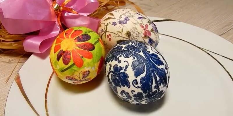 Пасхальные яйца своими руками в школу и садик