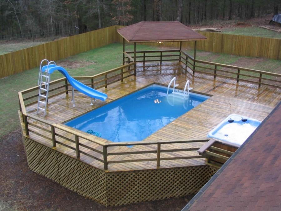 как недорого, просто и быстро построить новый басейн