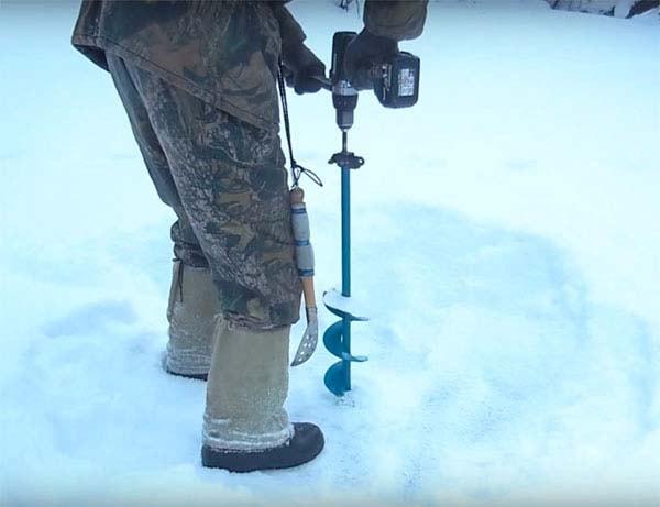 Ледобур из шуруповёрта: самодельный адаптер ледобура под шуруповёрт