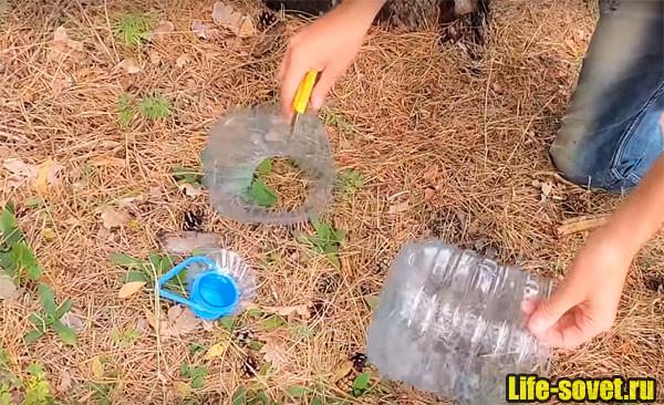 Раколовка из бутылок: фото, видео изготовления ловушки