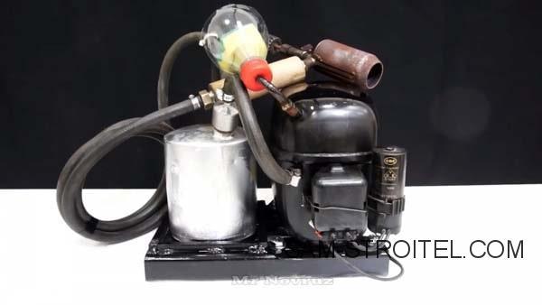 Самодельная горелка из компрессора холодильника (24 фото)