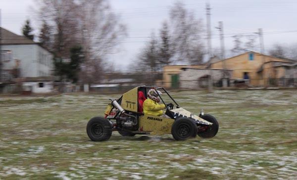Самодельный багги с двигателем от мотоцикла МТ: фото, описание