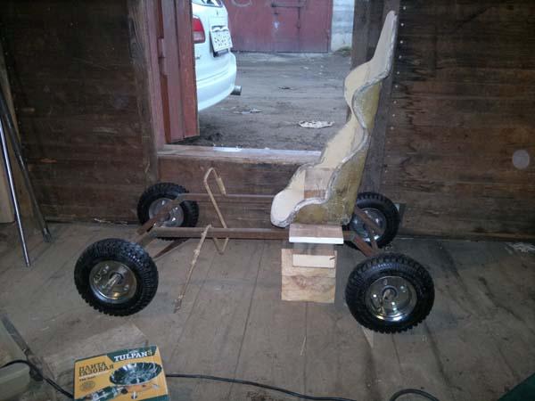 Самодельный детский электромобиль (20 фото изготовления)