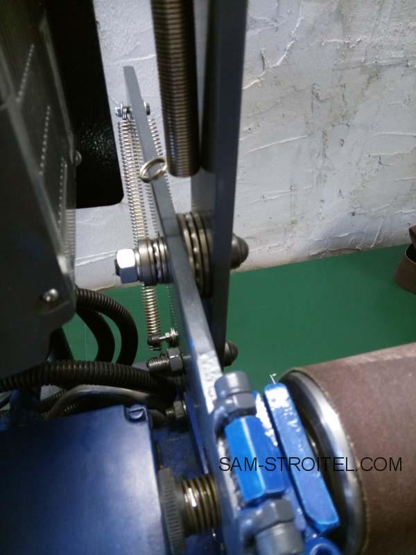 Самодельный гриндер под ленту от 610 до 915 мм