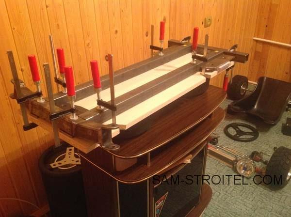 Самодельный тарабайк - машина для экстремальных покатушек