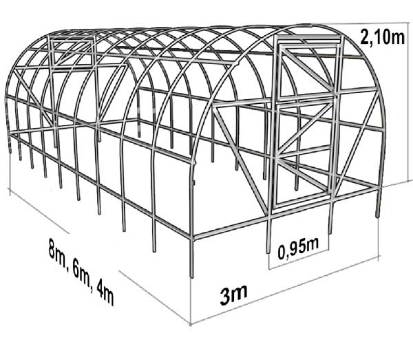 Строительство теплицы из поликарбоната | Сам Себе Строитель