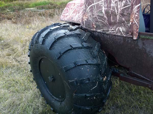 Вездеход на шинах низкого давления своими руками (25 фото и описание)