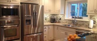 духовка рядом с холодильником